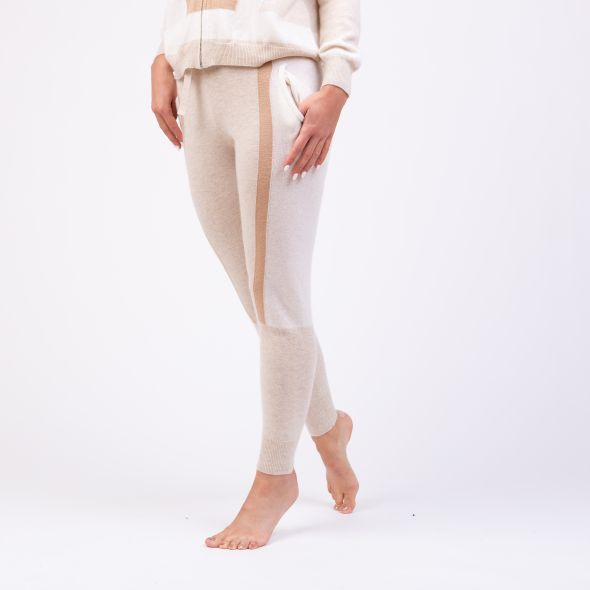 Women's Cashmere Angelina Joggers | Camel
