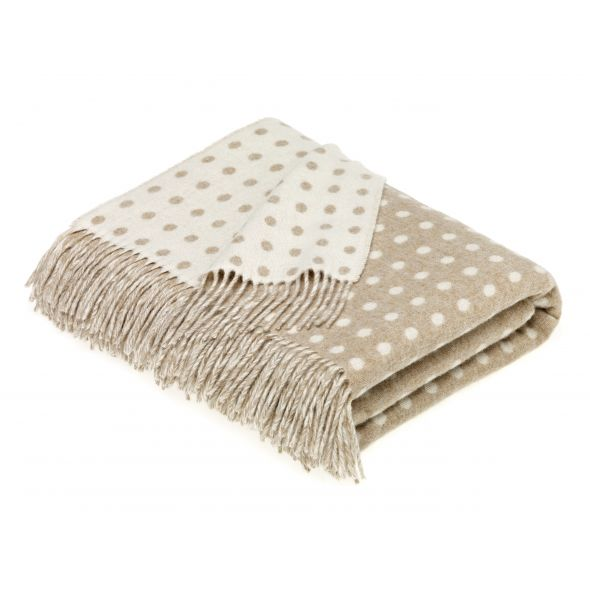 Bronte By Moon Throw | Natural Spot