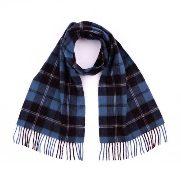 Lambswool Clan Scarf | Ramsay Blue Ancient