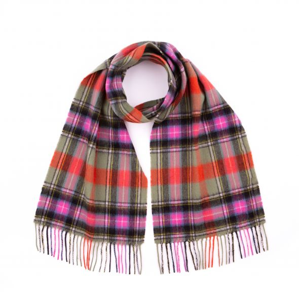 Cashmere Clan Scarf | Bruce Of Kinnaird Ancient