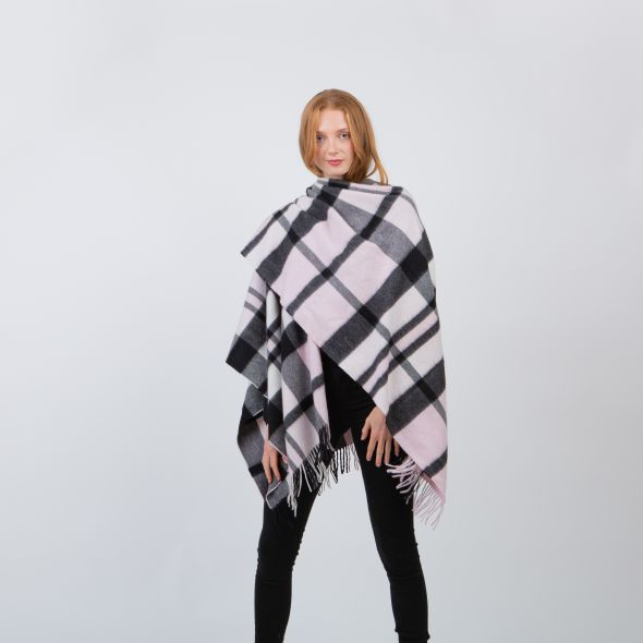 Cashmere Serape   Super Exploded Thompson Baby Pink