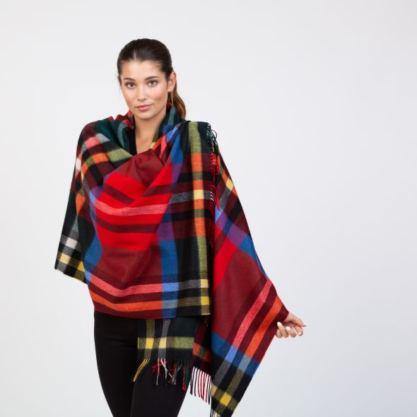 Cashmere Stole | Exploded Official Royal Stewart