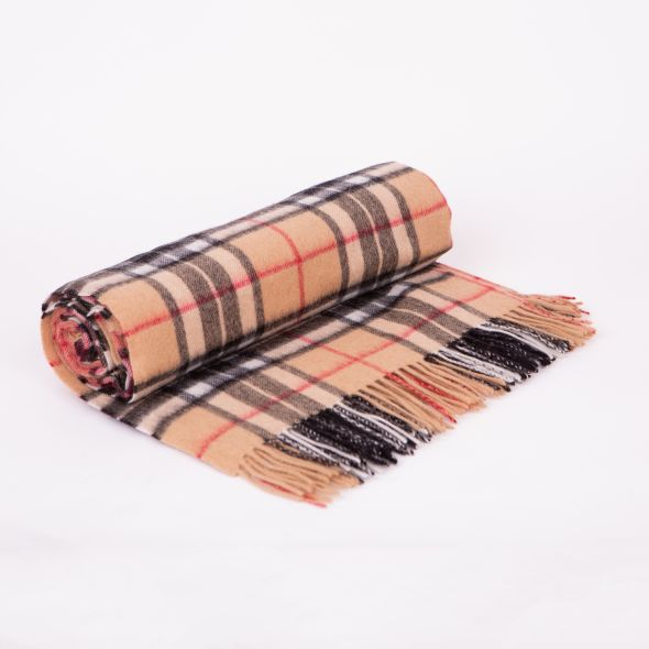 Lambswool Throw | Official Scotty Camel Thompson