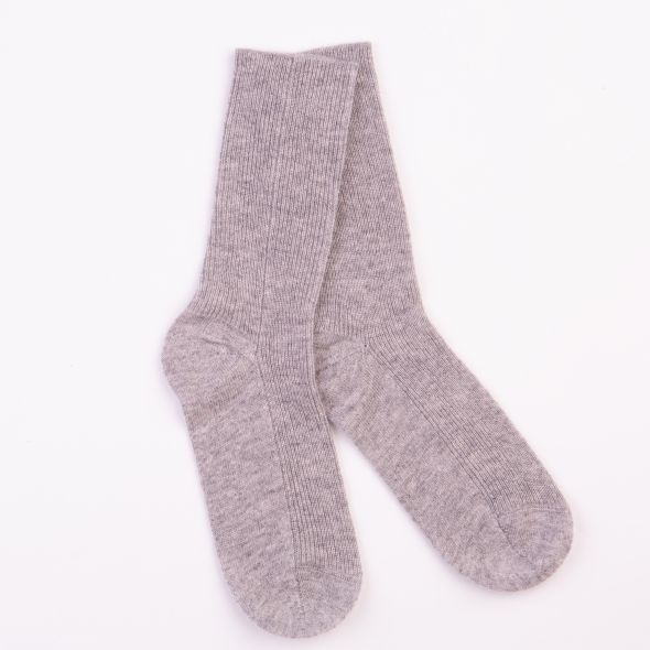 Women's Cashmere Socks | Oyster Grey