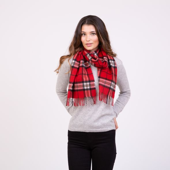 Made In Scotland Cashmere Scarf | Red Thompson