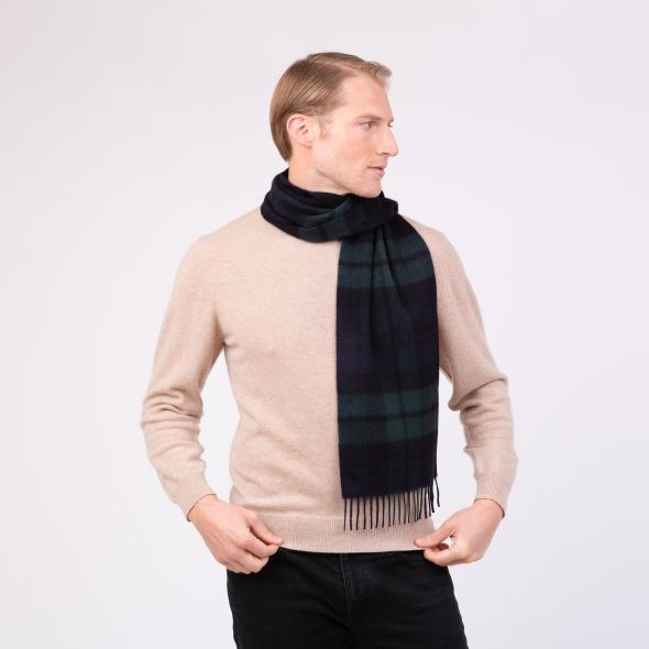 Made In Scotland Cashmere Scarf | Exploded Blackwatch