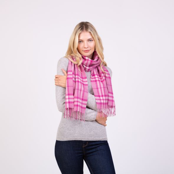 Made In Scotland Cashmere Scarf | Pink Thompson