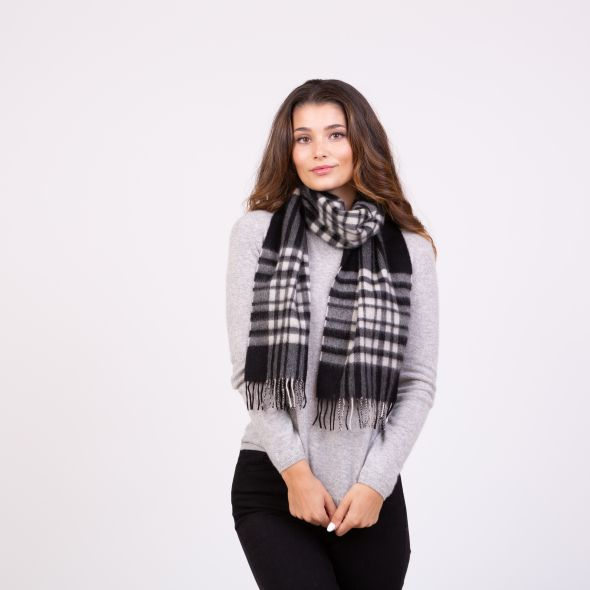 Made In Scotland Cashmere Scarf | Exploded Menzies