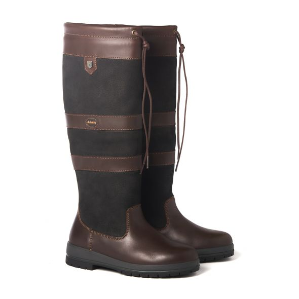 Dubarry Galway Country Boot | Black/Brwn