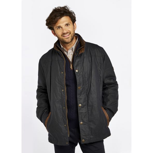Dubarry Carrickfergus Waxed Jacket | Navy