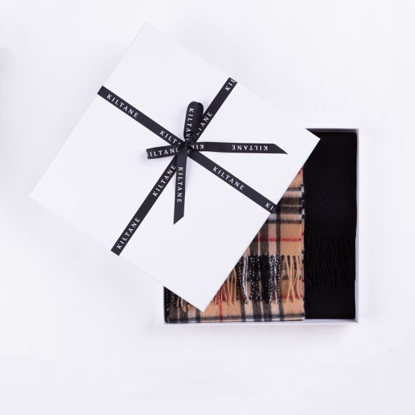 Lambswool Scarf Gift Set | Official Scotty Camel Thompson