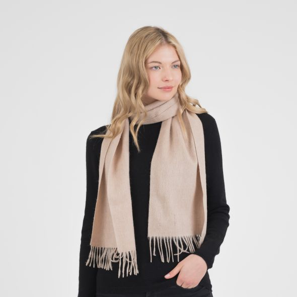 Lambswool Scarf | Vicuna